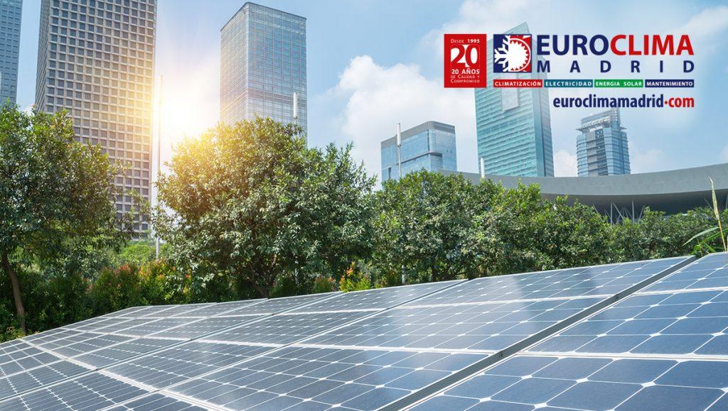 Energ a solar en el hogar euroclima madrid servicios y proyectos de climatizaci n - Energia solar madrid ...